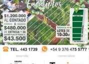 Lotes en venta los eucaliptos en capital