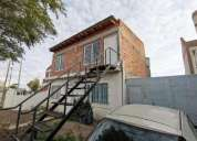 Casa en venta 2 dormitorios y departamento a terminar puerto madryn chubut en biedma