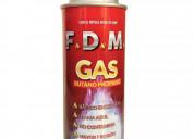 Pack x15 cartuchos gas butano propano fdm aerosol