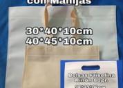 Bolsas lisas ó impresas c/tu logo /(agosto/21)