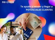 Llegar a potenciales clientes y aumentar ingresos