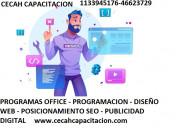 Cursos de programacion web on line
