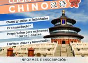 Clases de chino mandarín en banfield