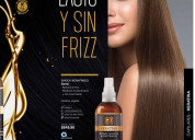 Shock keratinico spray- cabello lacio y sin friz