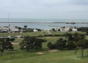 Dpto 3 ambiente frente al golf mar del plata