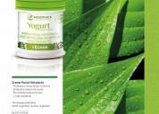 Crema facial hidratante vegana-con tecnología prob