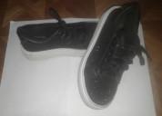 Zapatillas negras plataforma -usadas muy buen esta