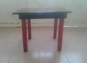Mesa de madera para niños-excelente estado color n