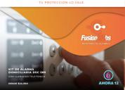 Fusión 24hs - servicio de alarmas monitoreadas
