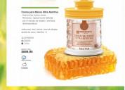 Crema para manos ultra nutritiva con jalea real y